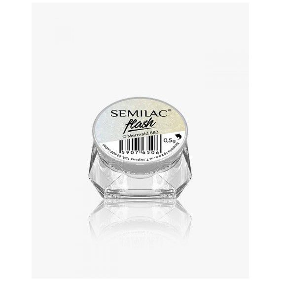 Semilac Irelnd Flash Mermaid 683 - Gel Polish effects - Semilac ie