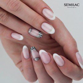001 Semilac Gel Polish - Strong White 7ml