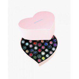 Semilac Heart Box