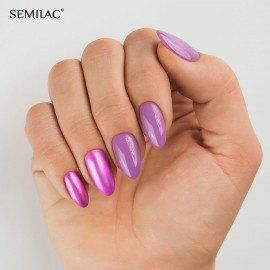 010 Semilac Gel Polish - Pink & Violet 7ml