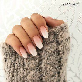 203 Semilac Gel Polish Business Line Pink Brown