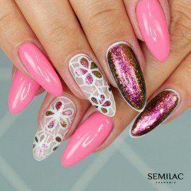 516 Semilac Gel Polish SemiBeats by Margaret Tiny Rose 7ml