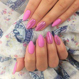 SEMILAC FLASH HOLO PINK 689