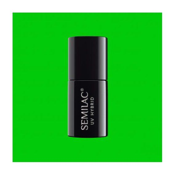 041 UV Hybrid Semilac Caribbean Green 7ml