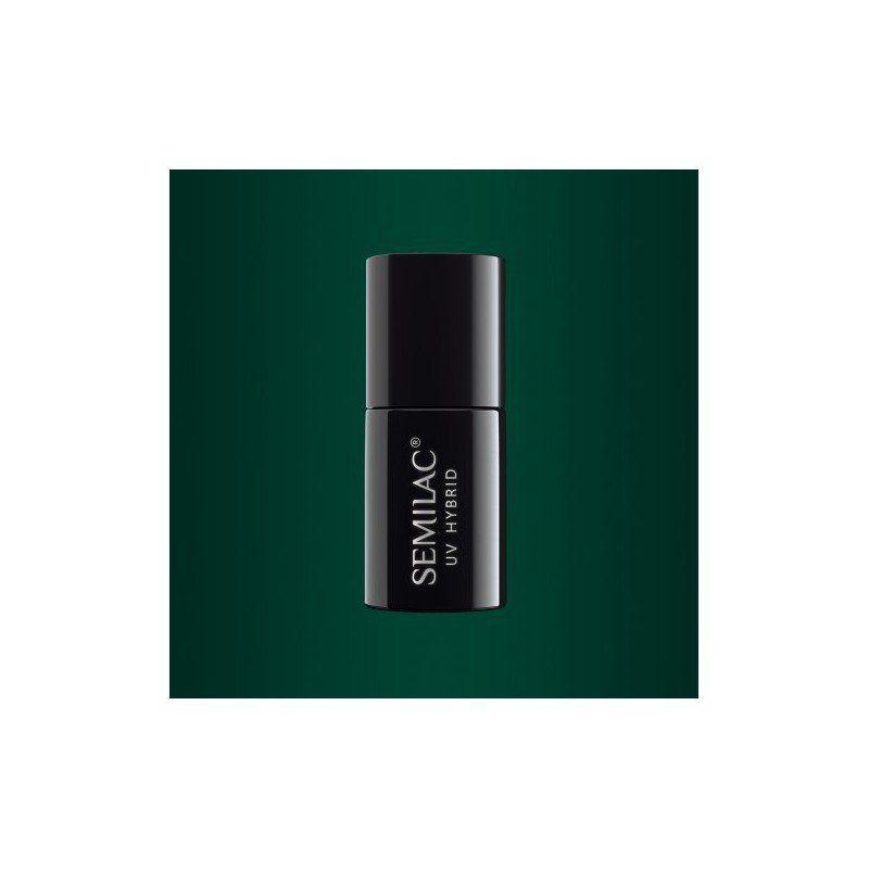 079 Semilac Gel Polish Dark Green Pearl 7ml Semilac