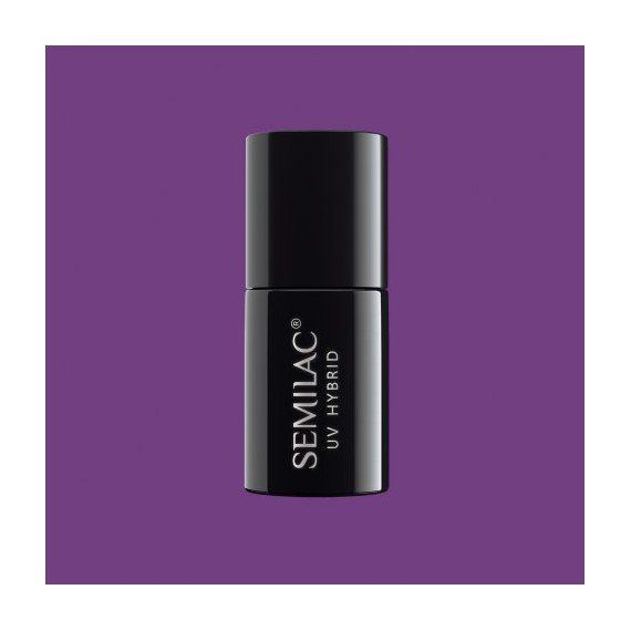 129 UV Hybrid / Gel Polish / shellac Semilac Ireland Violet Bliss 7ml
