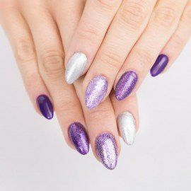 147 Semilac Gel Polish - Violet In The Dark 7ml