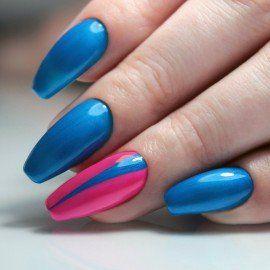 188 Semilac Gel Polish Strawberry Blue 7ml
