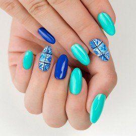 267 Semilac Gel Polish PasTells Turquoise