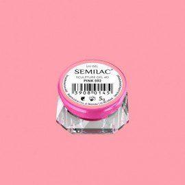 592 SEMILAC SCULPTURE GEL 4D PINK 5 G