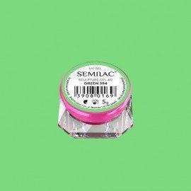 594 SEMILAC SCULPTURE GEL 4D GREEN 5 G