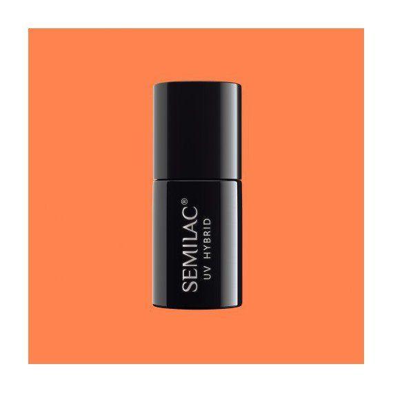 158 UV Hybrid Semilac Orient Mandarin 7ml