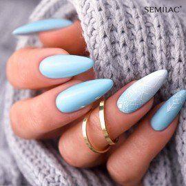 268 Semilac Gel Polish PasTells Light Blue