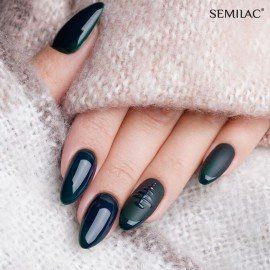 078 Semilac Gel Polish - Deep Green 7ml