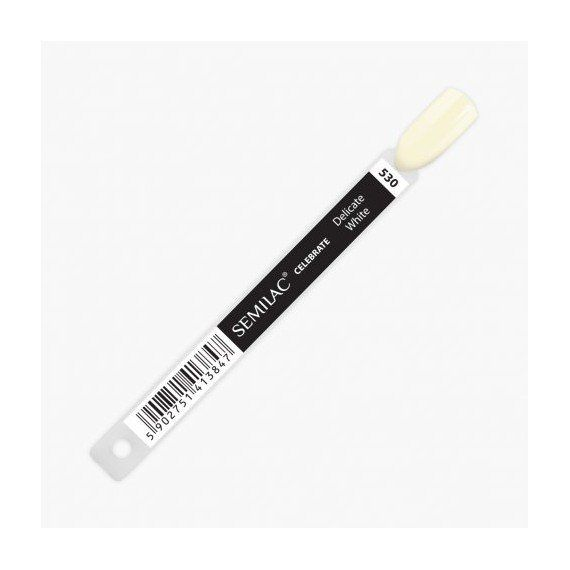Semilac COLOR CHART - 001 Strong White