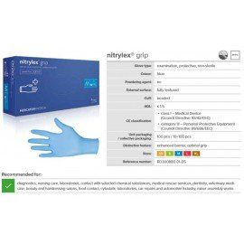 Nitrylex® Gloves - GRIP - XS