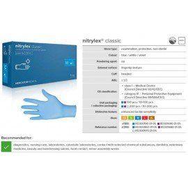 Nitrylex® Gloves - CLASSIC VIOLET (XS,S,M,L)