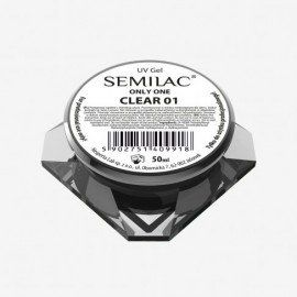 01 SEMILAC UV GEL ONLY ONE CLEAR 50 ML
