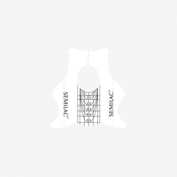 Semi Hardi Shaper Slim to extend nail plate – 100pcs from semilac ireland