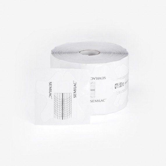 Nail extension accessories Semi Hardi Shaper Wide – 500pcs