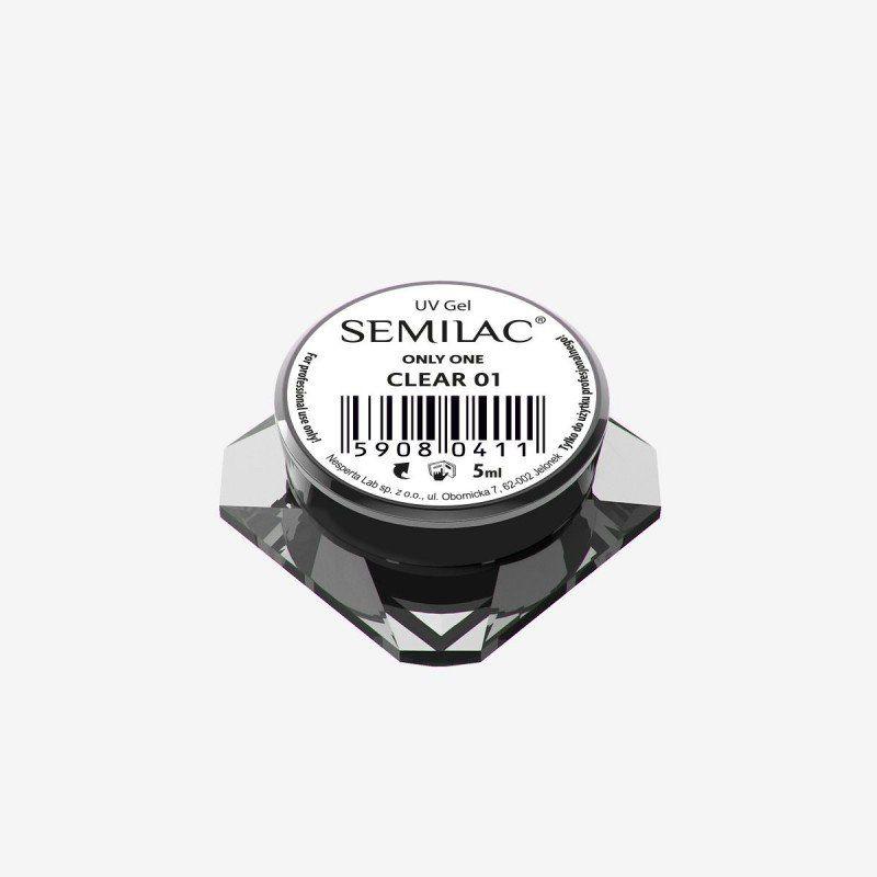 Gel constructor 01 SEMILAC UV GEL ONLY ONE CLEAR 5 ML