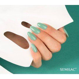 558 Semilac Gel Polish - GREEN SHOT