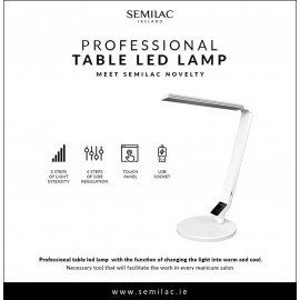 Semilac Manicure Table LED Lamp