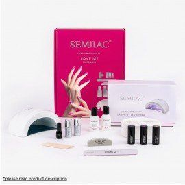 Semilac Gel Polish Starter Set - Love Me - customized colors!