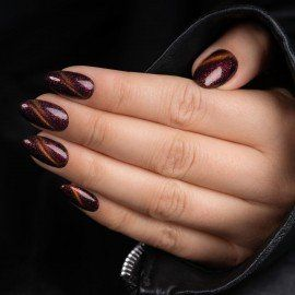 313 Semilac Gel Polish MAGIC CAT EYE RED
