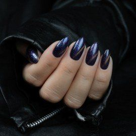 315 Semilac Gel Polish MAGIC CAT EYE VIOLET