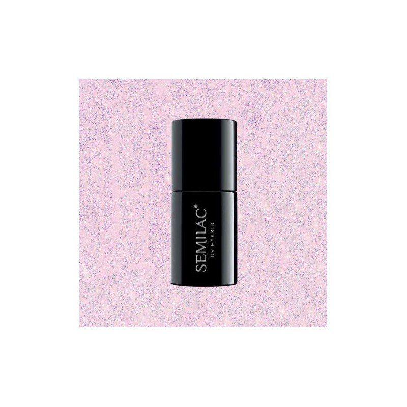 806 Semilac Extend 5in1 Glitter Delicate Pink Semilac