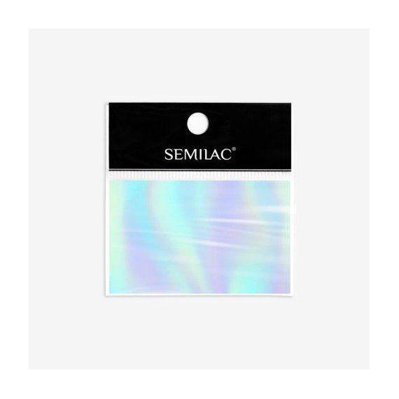 Semilac 745 - Nail Art Transfer Foil Silver