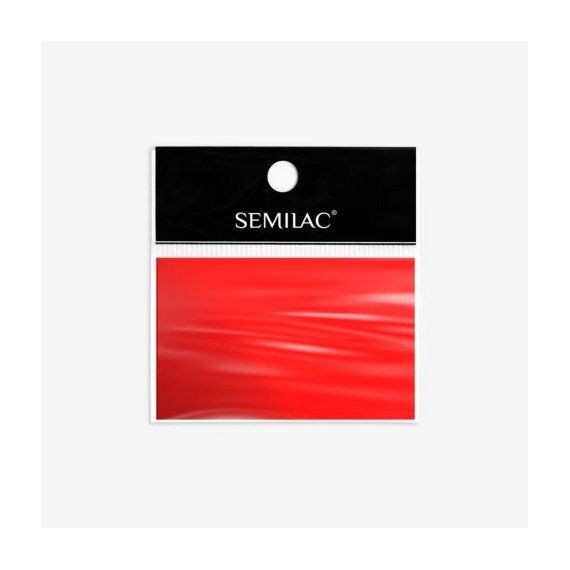 Semilac 746 - Nail Art Transfer Foil Red