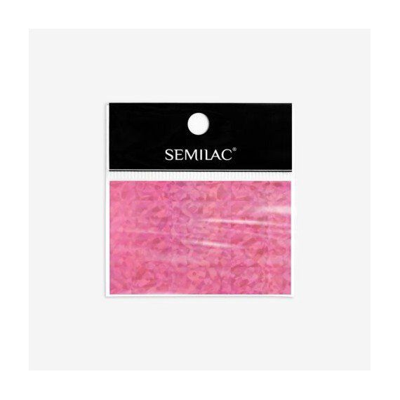 Semilac 748 - Nail Art Transfer Foil Holo Pink