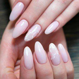002 Semilac Gel Polish - Delicate French 7ml