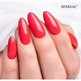 006 Semilac Gel Polish - Classic Coral 7ml
