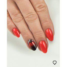 519 Semilac Gel Polish SemiBeats by Margaret Full Orange 7ml