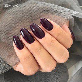 015 Semilac Gel Polish - Plum 7ml