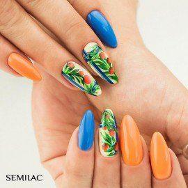 019 Semilac Gel Polish - Blue Lagoon 7ml