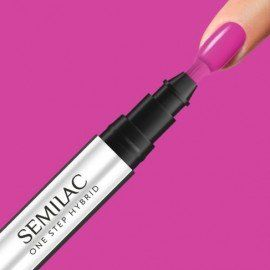 S685 SEMILAC ONE STEP HYBRID PINK PURPLE