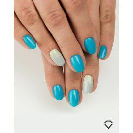 523 Semilac Gel Polish SemiBeats by Margaret Delicate Blue 7ml