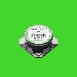 Semilac Nail Art Spider Gum 08 NEON GREEN