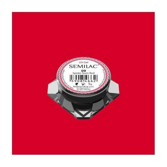 Semilac Nail Art Spider Gum 09 RED