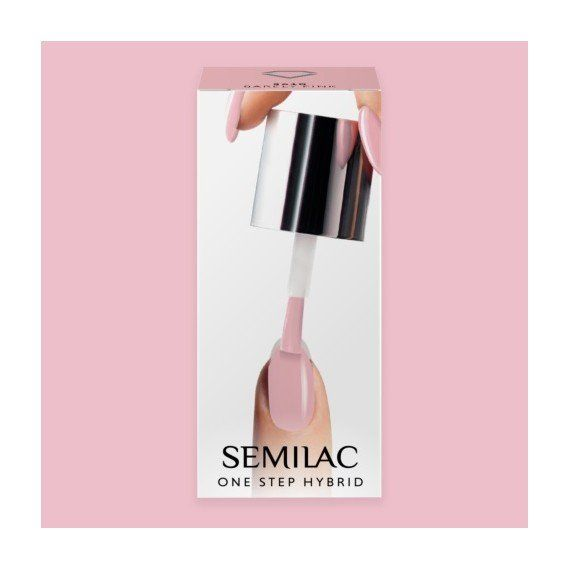 S610 SEMILAC ONE STEP HYBRID - BARELY PINK 5ML