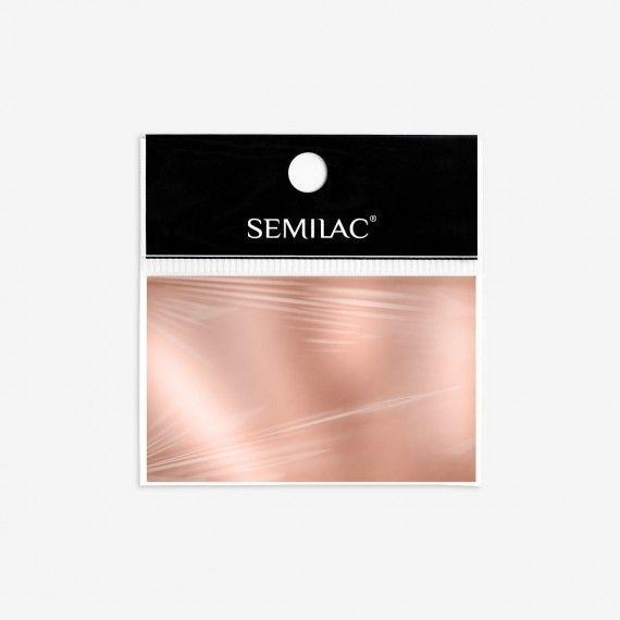 Semilac 03 - Nail Art Transfer Foil Rose Gold