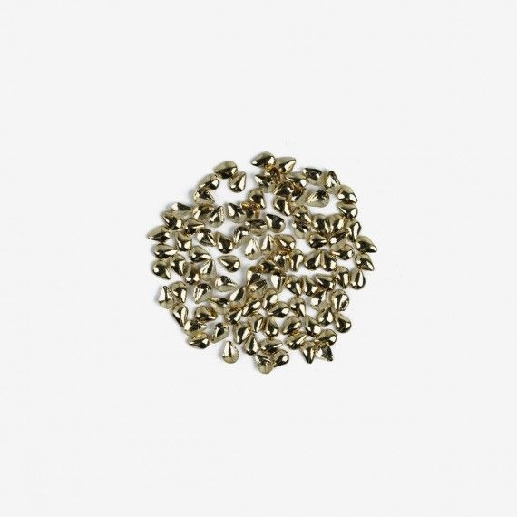 766 Semilac Nail Decoration Small Gold Tears (100pcs)