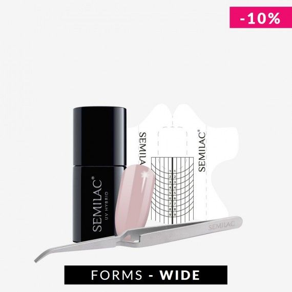 Nail Extension Set with Wide form