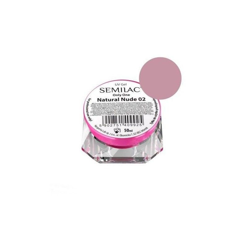 Gel Semilac Only One 04 Pink Nude 5 ml • Semilac Beauty