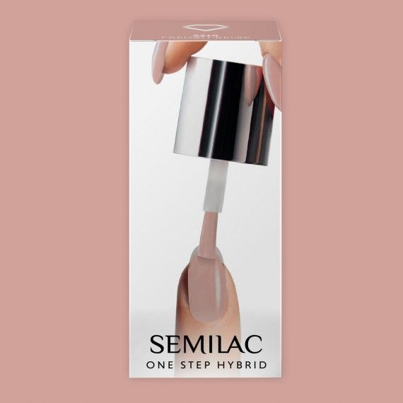 S210 SEMILAC ONE STEP HYBRID - FRENCH BEIGE 5ml