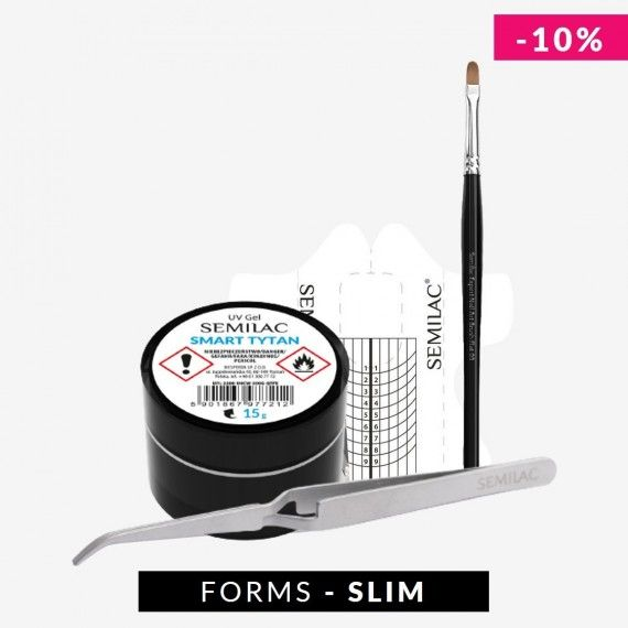 Nail Extension Kit for Gel Nails + Slim form